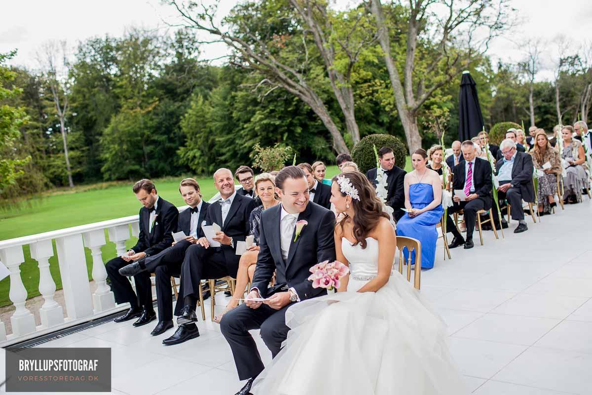 forberedelse, vielse, reception, fest, brudevals