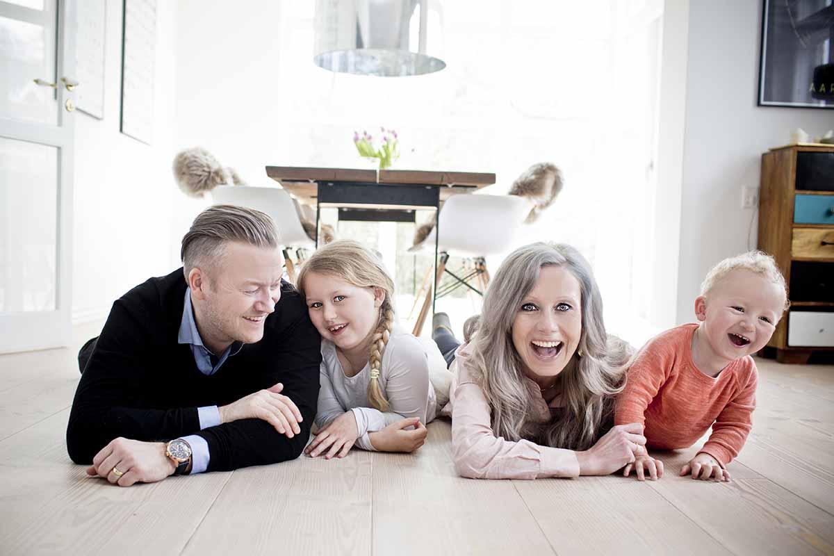 familie foto Aarhus