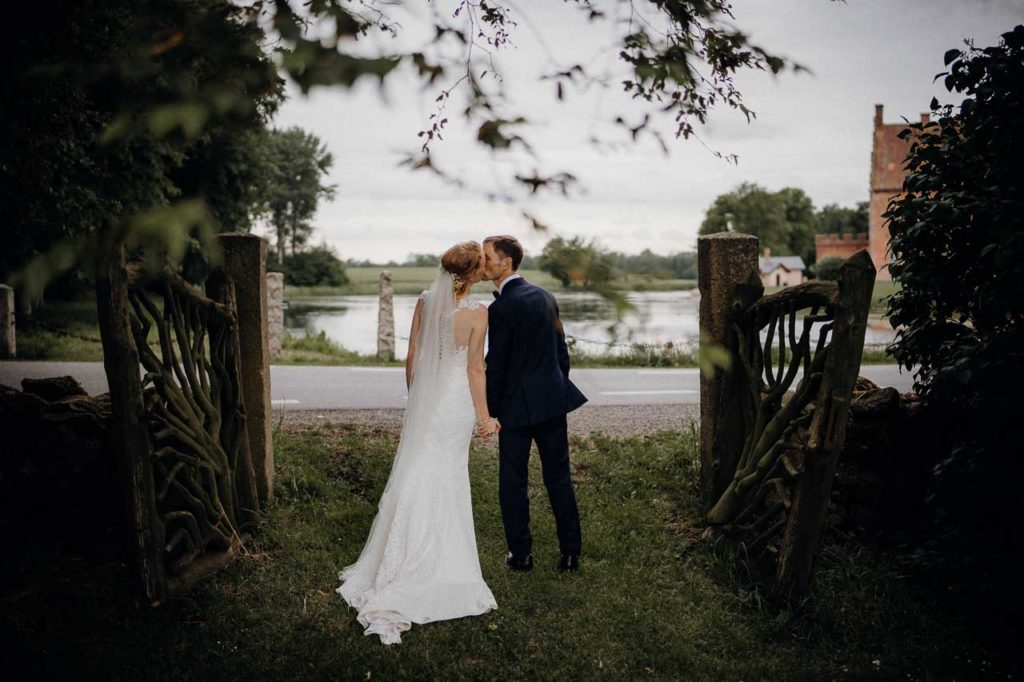 Bryllupsfotografering i Aarhus af bryllupsfotograf